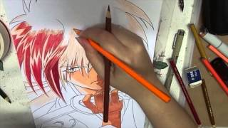 Speed Drawing - Kenshin Himura (Samurai X)