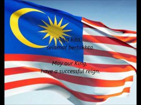 """Malaysian National Anthem - """"Negaraku"""" (MS/EN)"""