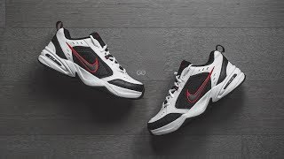 "Nike Air Monarch IV ""White/Black/Red"": Review & On-Feet"