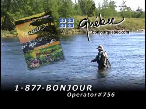 "Tourisme Quebec ""A Million Lakes & Rivers"" :15"