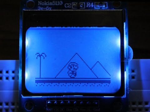 Marduino - An Arduino platform game