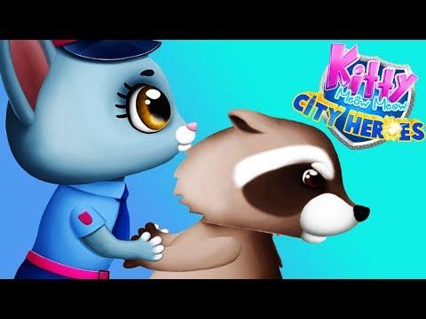 Fun Animal Care Games - Kitty Meow Meow Pet City Kitten Rescue Makeover Kids & Girls Games