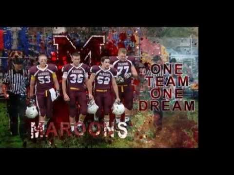 Mighty Maroons Of Menominee Michigan