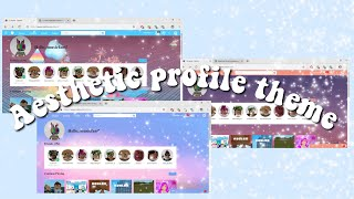 How to Make an Aesthetic Roblox Profile Theme