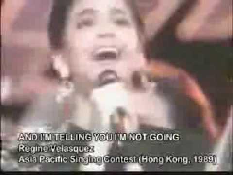 Regine Velasquez - Asia Pacific Song Festival 1989 (Perfect Pitch)