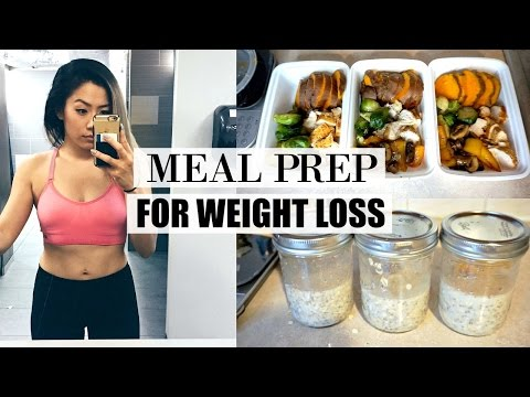 HOW TO MEAL PREP FOR WEIGHT LOSS | What I Eat In a Day To Lose Weight - My Fitness Journey