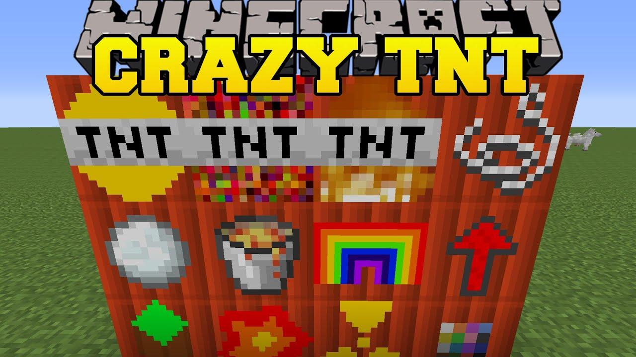 Minecraft Crazy Tnt Mod So Many New Explosives Mod Showcase Youtube
