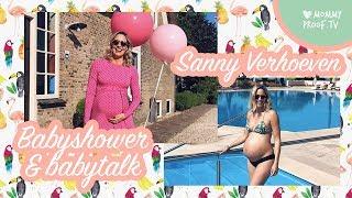 Sanny Verhoeven & flinke BABYSCHOPJES! | BABYTALK: zwangerschap, babyshower & babykamer-tour!