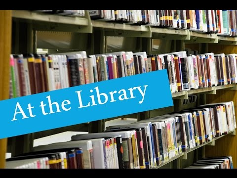 English Conversation: At the Library