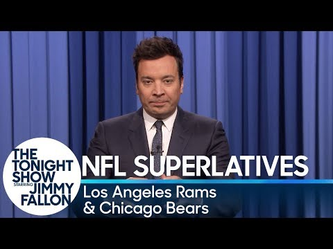 Tonight Show Superlatives: 2018 NFL Season - Rams and Bears