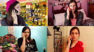 The Clique Phone Scene