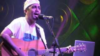 Glenn Fredly Menolak Reklamasi Teluk Benoa saat konser Hard Rock Cafe Bali