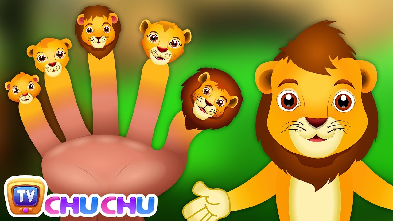 Finger Family Lion Nursery ChuChu Tv Rhymes