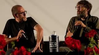 Valerio mastandrea, ride, presentazione film, viterbo, tuscia film fest, 2019, piazza san lorenzo