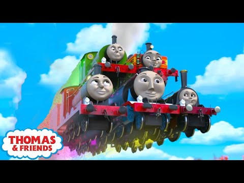 Thomas & Friends UK | Confusion without Delay | Best Moments of Season 22 | Vehicles for Kids