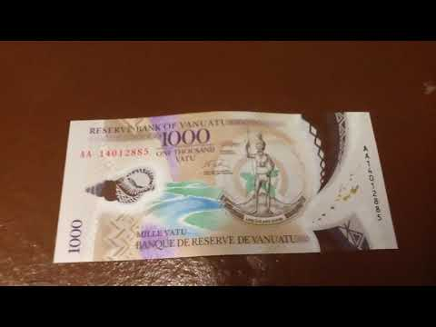 Vanuatu 1000 Vatu note