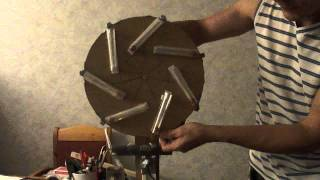 7-fold symmetrical gravity wheel with neolithium magnets (v1.2)
