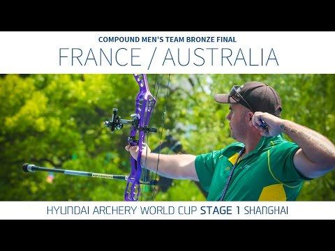 Australia v France – Compound Men's Team Bronze Final | Shanghai 2016