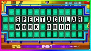 The DUMBEST Contestant in the History of Wheel of Fortune | Wheel of Fortune Funny Game