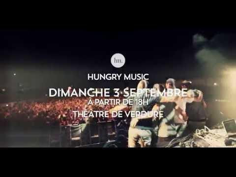 Hungry Music @ Théâtre de Verdure, Nice 03/09/17 (Teaser)