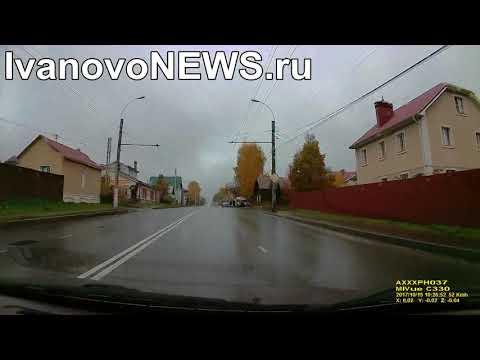 В Иванове маршрутка врезалась в забор