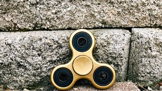Spray painting my fidget spinner