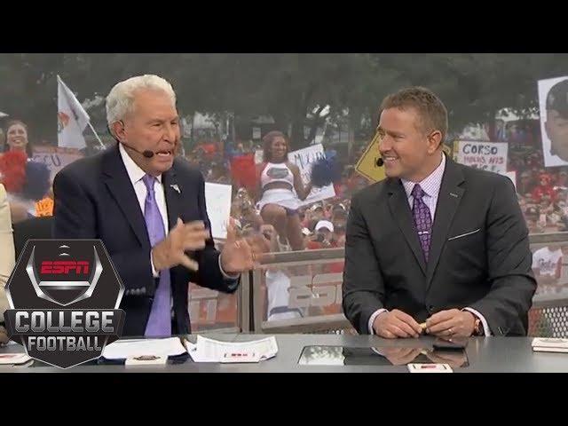 Lee Corso picks Florida-Georgia, other Week 9 college football games   College GameDay