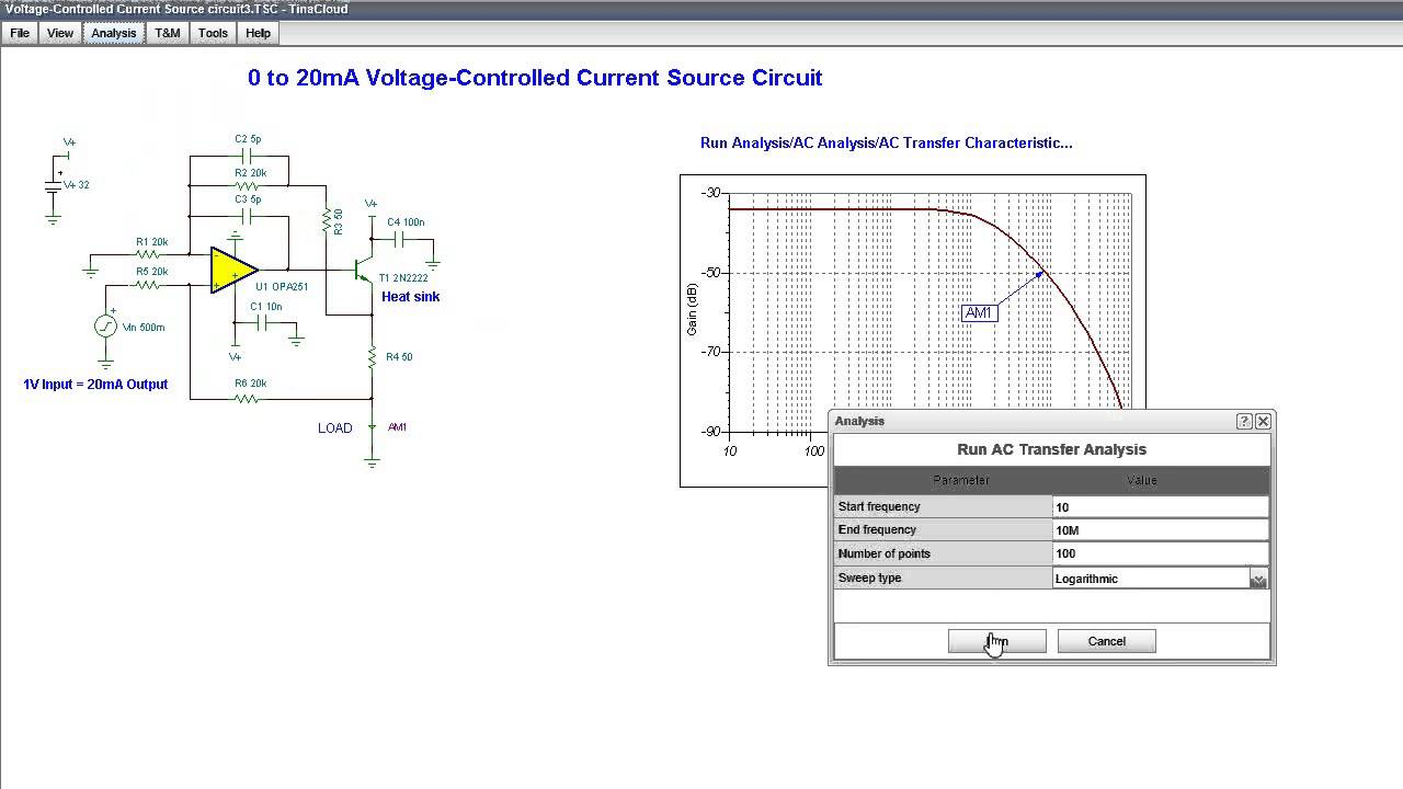 Voltage Controlled Current Source Circuit Youtube Circuits Indep