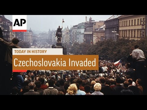 Czechoslovakia Invaded - 1968 | Today In History | 20 Aug 17