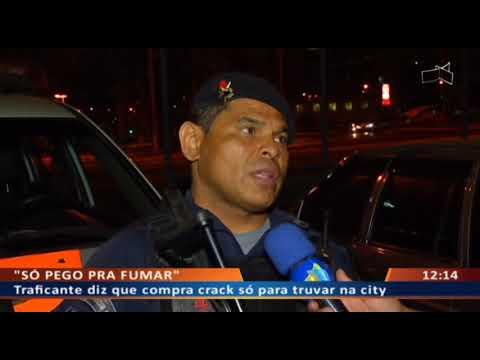DF ALERTA - Traficante diz que compra crack só para truvar na city