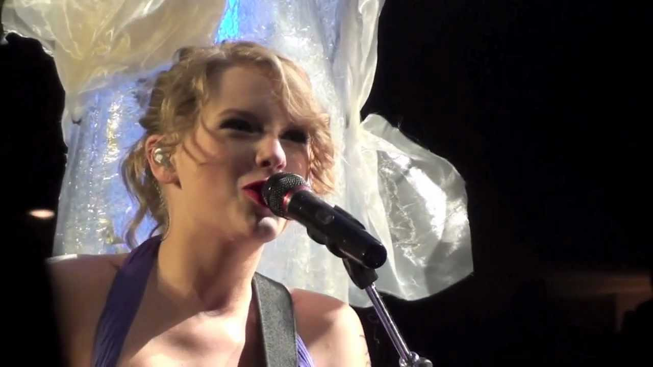 Drops Of Jupiter Taylor Swift San Jose Ca 9 1 2011 Youtube