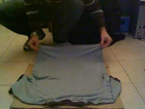 Flipfold le plieur qui ne fait pas un pli doovi - Comment plier un drap housse ...