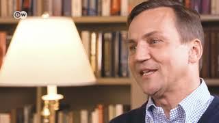 Radoslaw Sikorski talks to DW's Zhanna Nemtsova | DW English