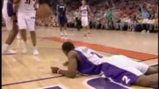 Joe Johnson's unfortunate dunk