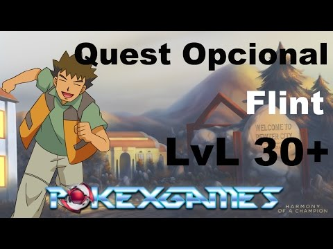 Quest Opcional - Flint (Rock Stone) - PokeXGames(PXG)
