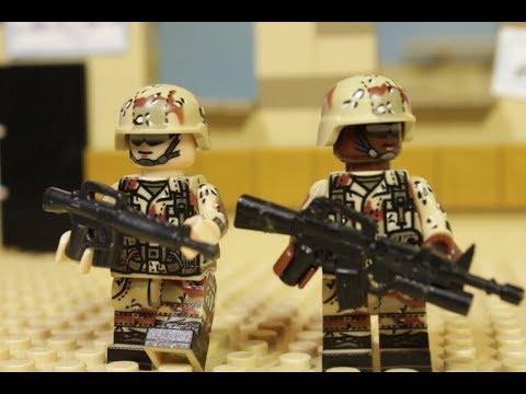 LEGO MODERN WARFARE FILM - Part 1 (Long Road Home)