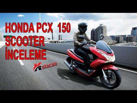 Honda PCX 150 scooter inceleme | Teknik Özellikler