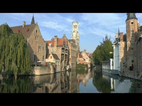 Walk around Bruges Belgium.
