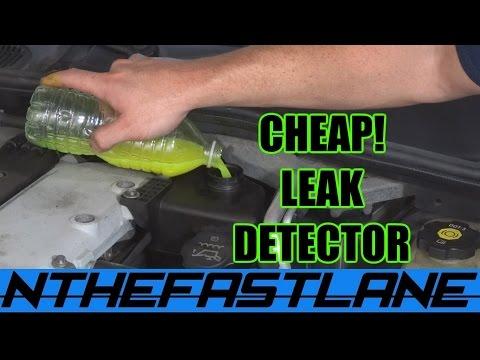 Leak Detection: Under $10 (Automotive)
