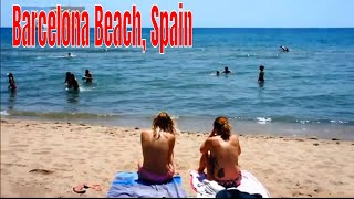 Top Most Attractions Of Beautiful Barcelona Beach, Spain