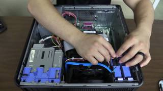 Hard Drive Replacement on a Dell Optiplex Tower