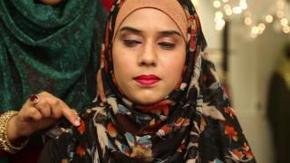 Side Pleated Instant Hijab