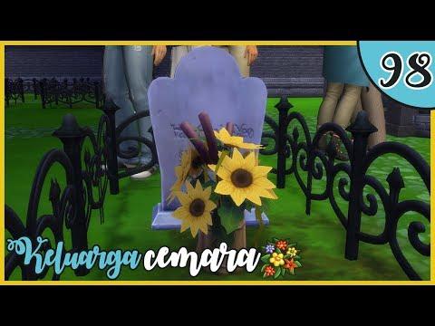 """😢 MAKAM PAPSKUY DISAMPING MAMSKUY 😔""   Ep.98   The Sims 4 Cemara Family"