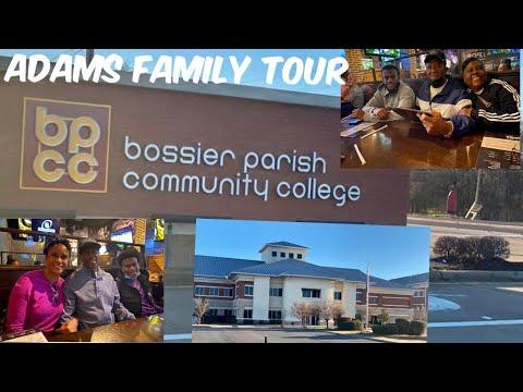 Tour of Bossier Parish Community College, Bossier City, LA | Surprise Visit with Jaden