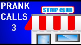 PRANK CALLS 3- PRANK CALLING STRIP CLUBS!!! CLASH OF CLANS BACKGROUND GAMEPLAY 25K SUBSCRIBERS