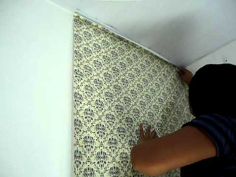 Adesivos decorativos como colocar papel de paredes youtube - Papel adhesivo para paredes ...
