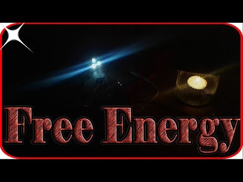 How to make a free energy generator at home without battery