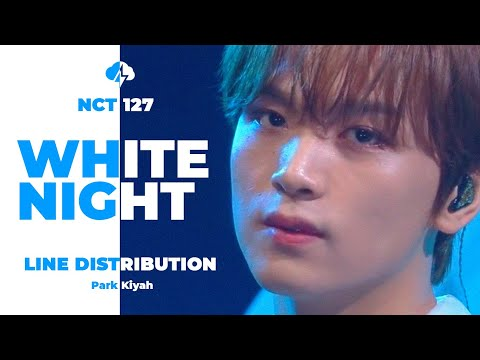 NCT 127 - White Night Line Distribution (Color Coded) | 엔시티 127 - 백야