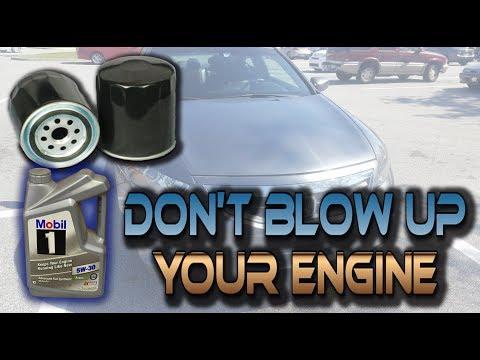 2011 Honda Accord Oil Change Instructions!