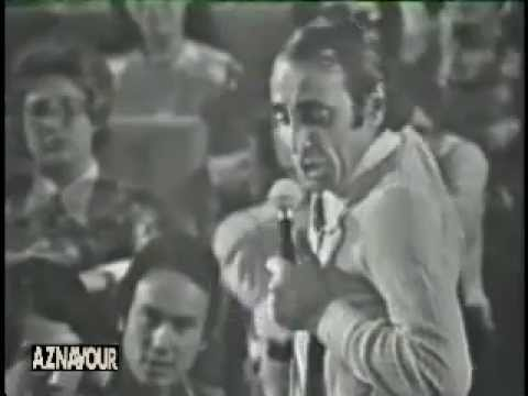 Charles Aznavour - Le cabotin [LIVE'67]